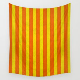 Stripes Collection: Citrus Wall Tapestry