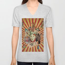 Life Is A Circus Unisex V-Neck