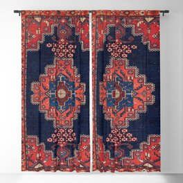 Afshar Kerman South Persian Rug Print Blackout Curtain