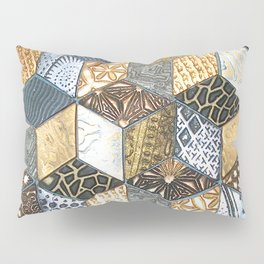 Tumbling Blocks #2 Pillow Sham