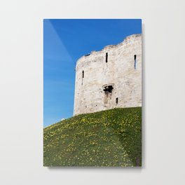 Cliffords Tower Metal Print