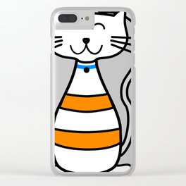 Cutest Cat Clear iPhone Case