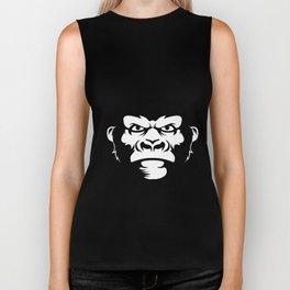 Gorilla face Biker Tank