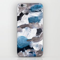 abstract painting VI iPhone Skin