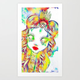 Rainbow Blight Art Print