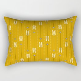 Arrows_Mustard Rectangular Pillow