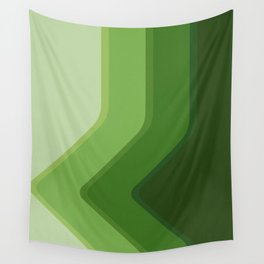 Shades of green Wall Tapestry