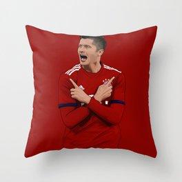 Robert Lewandoski Throw Pillow