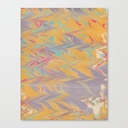 Marbled Pattern V Canvas Print