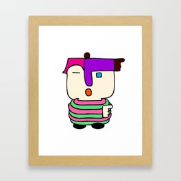 I'm Somebody Framed Art Print