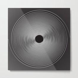 Bulls Eye Metal Print