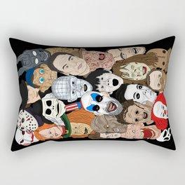 Icons Rectangular Pillow