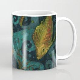 Golden Fishes Coffee Mug