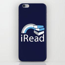 i Read   Book Nerd Slogan iPhone Skin
