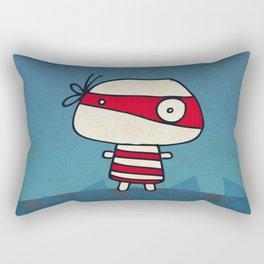 Red Pirate Rectangular Pillow