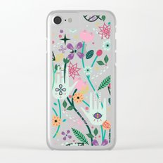 Botanical Hands Clear iPhone Case