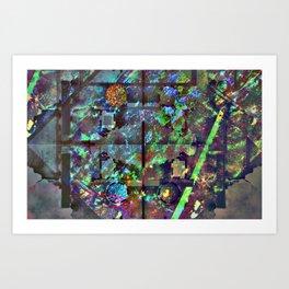 Holografika Art Print