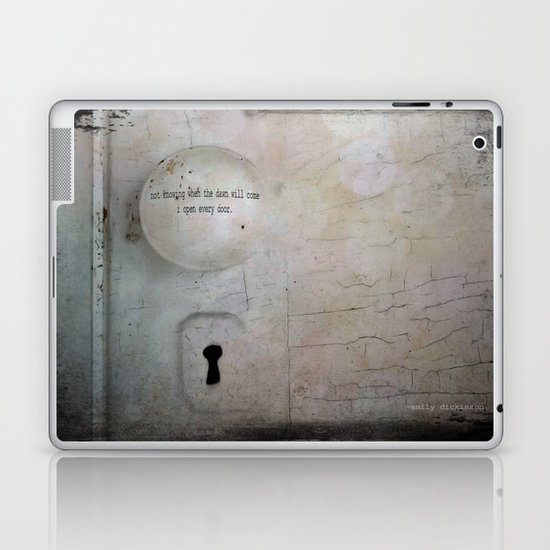 Open Every Door Laptop & iPad Skin