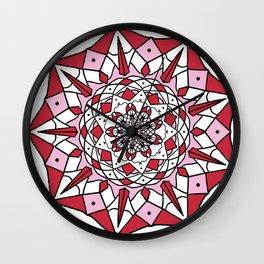 Sharp Spikes Wall Clock
