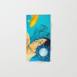 Koi Hand & Bath Towel