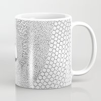 yin yang Mugs featuring yin yang by Pao Designs
