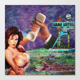 Moon Motel Canvas Print
