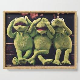 Kermit - Green Frog Serving Tray