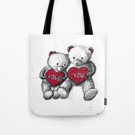 Bear: Valentine's Day Tote Bag
