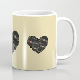 Heart of a Vinyl Lover Coffee Mug