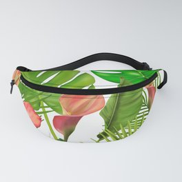 Simple Floral Patterns Fanny Pack