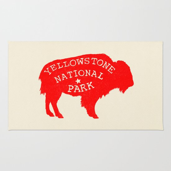Yellowstone National Park  Rug
