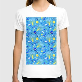 80's Postmodern Hanukkah Celebration T-shirt