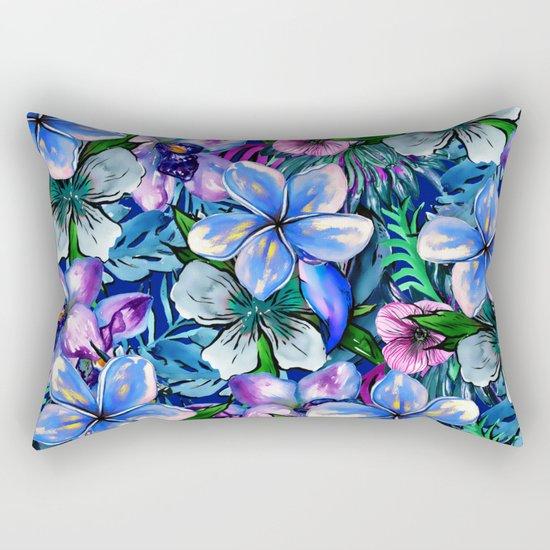 My Tropical Garden 5 - variation Rectangular Pillow