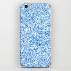 Water Wind Doodle iPhone & iPod Skin