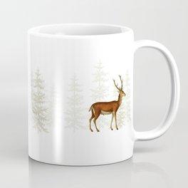Wandering deer  Coffee Mug