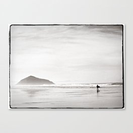 Morning Surf, near Tofino, BC, Canada Canvas Print