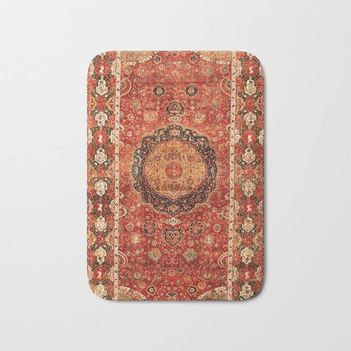 Seley 16th Century Antique Persian Carpet Print Badematte