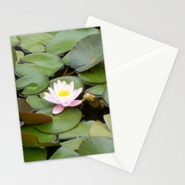 Serene Nymphaeaceae Stationery Cards