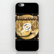 Black Gold iPhone & iPod Skin
