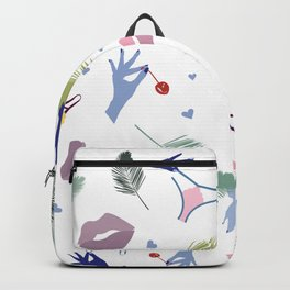 Lips and Panties Backpack