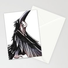 Raven Girl Stationery Cards