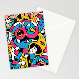 At The Third Stroke Stationery Cards