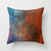 chameleon Throw Pillows featuring Chameleon by Bestree Art Designs