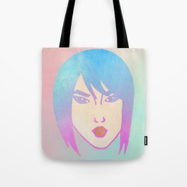 Punk Girl Tote Bag