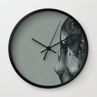 underwater Wall Clocks featuring Underwater by Freeminds