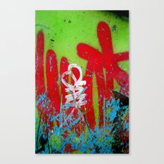 Jardin De Graffiti Canvas Print