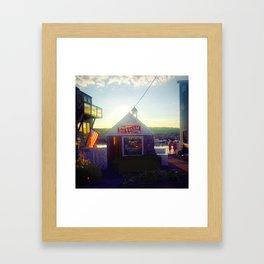Rockport Ice cream Framed Art Print