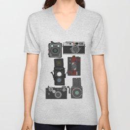 Cameras Unisex V-Neck