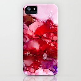 Red and Purple Flow iPhone Case