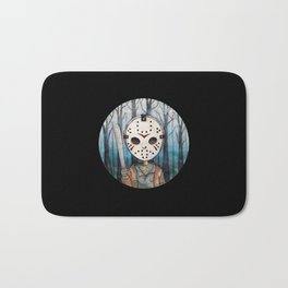 Cute Jason Voorhees  Bath Mat